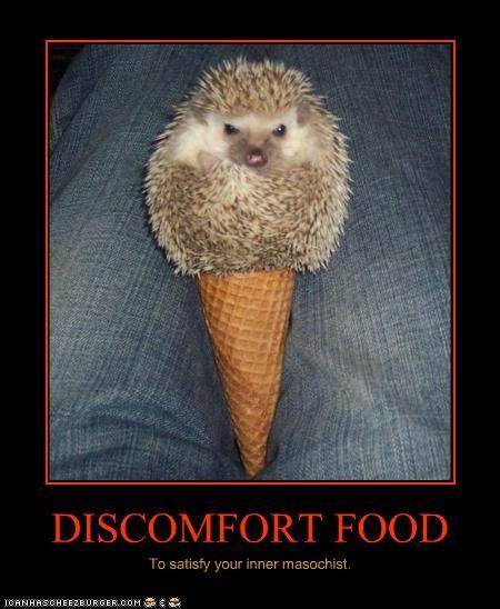 DISCOMFORT FOOD To satisfy your inner masochist.