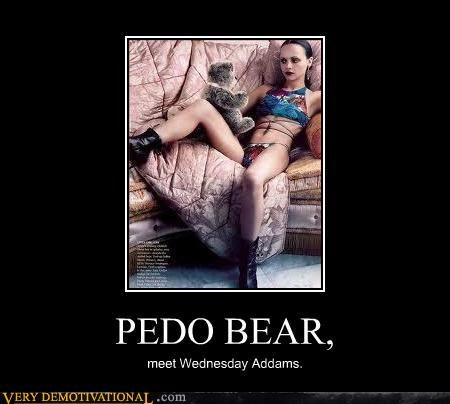 wednesday adams,pedobear,cute,koala