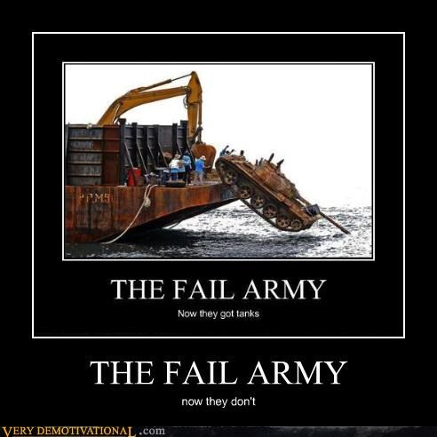 THE FAIL ARMY now they don't
