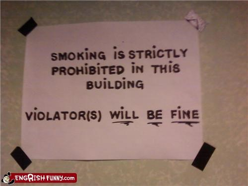 engrish,fine,Hall of Fame,smoking,warning