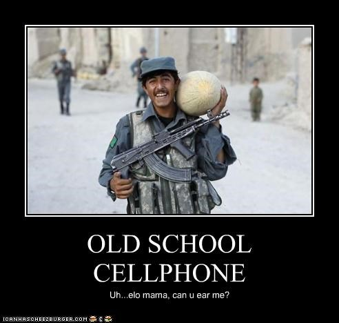 OLD SCHOOL CELLPHONE Uh...elo mama, can u ear me?
