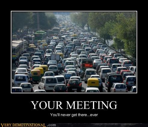 being late meetings modern living Sad sucks traffic work - 3910507776