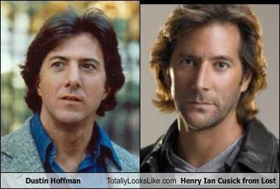 Dustin Hoffman,henry ian cusick,lost
