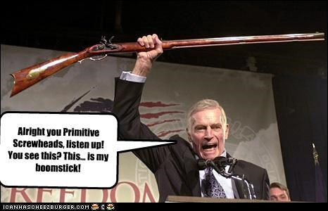 celeb Charleton Heston funny lolz NRA pop culture - 3911295744