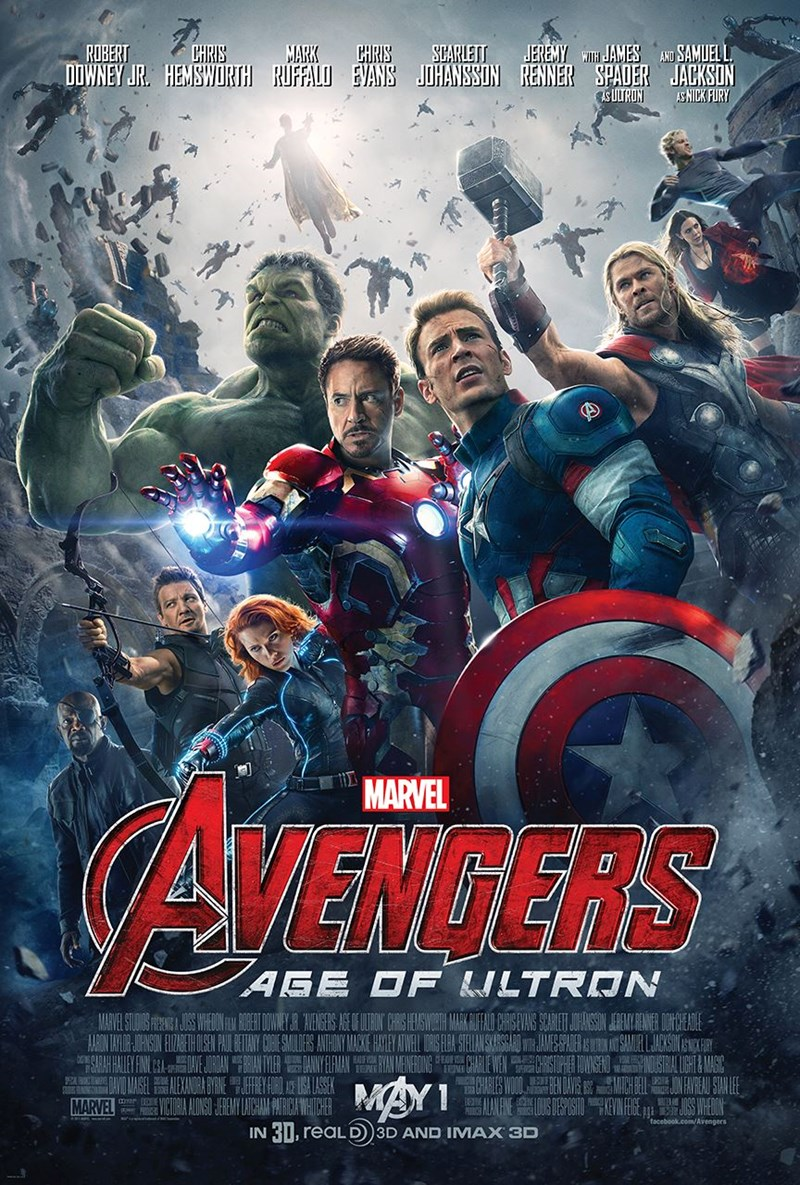 movie poster age of ultron The Avengers - 391173