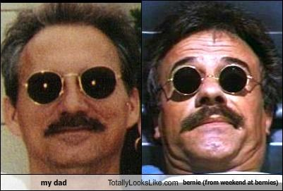 bernie,my dad,weekend at bernies