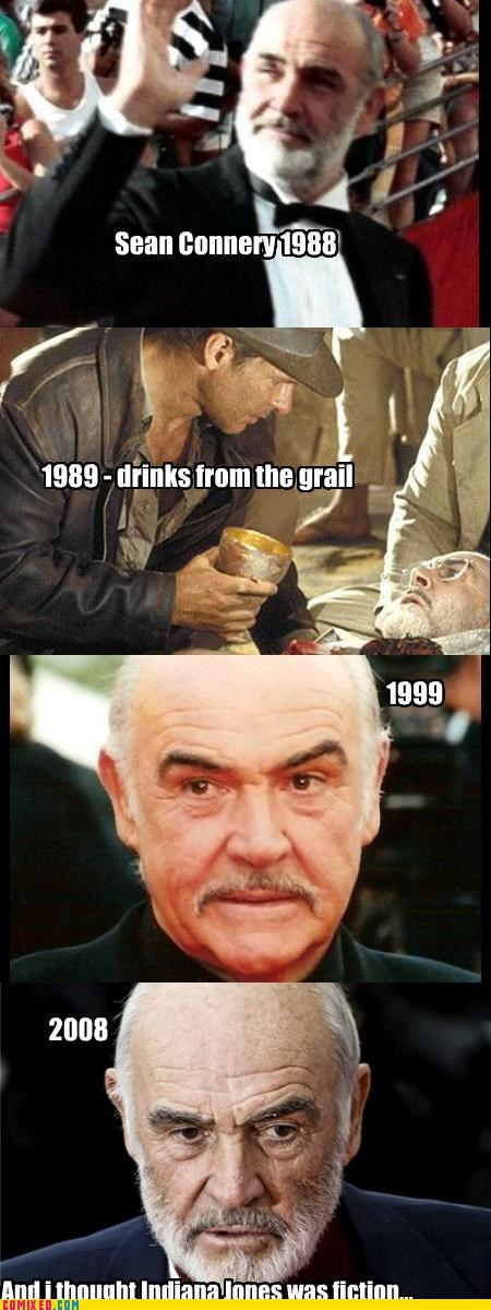 From the Movies,holy grail,immortal,Indian Jones,legend,sean connery