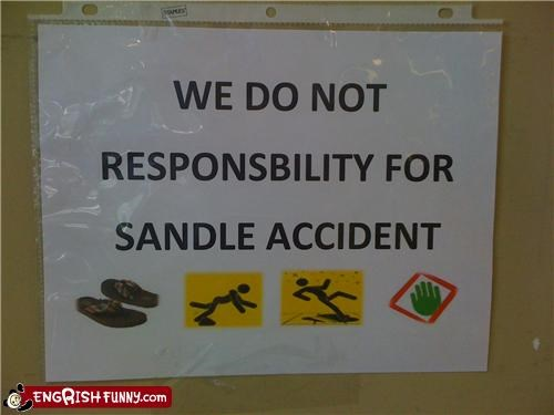engrish fine footwear sandals warning - 3912966656