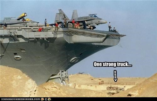 One strong truck.... ===>