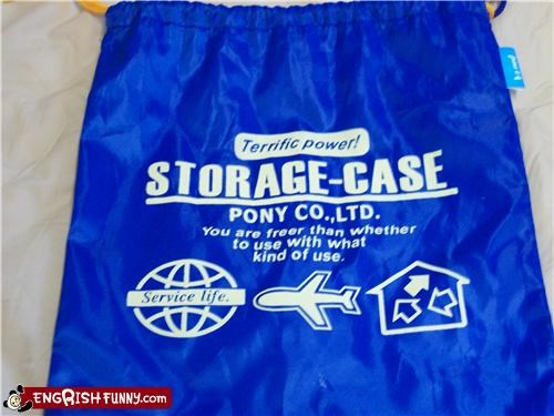 bag engrish storage - 3913546240