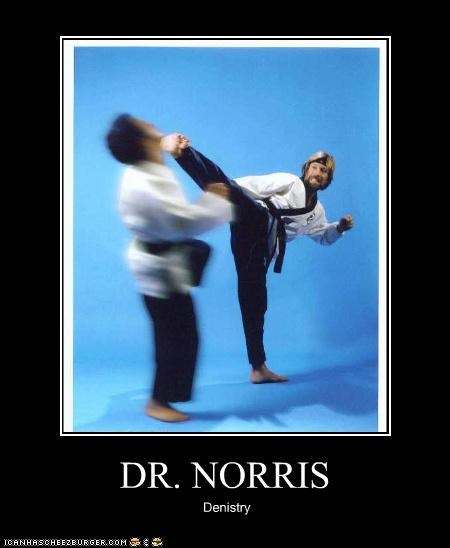 celebrity pictures chuck norris dentistry lolz - 3913707520