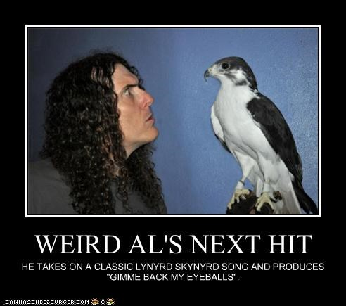 celeb demotivational funny weird al