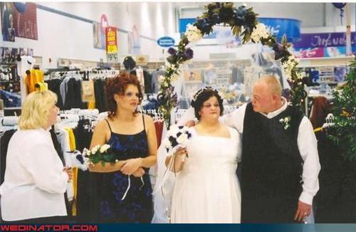 bridesmaid Crazy Brides crazy groom fashion is my passion funny wedding photos News and Trends redneck redneck wedding romance Walmart were-in-love Wedding Themes white trash wedding wtf - 3914066688