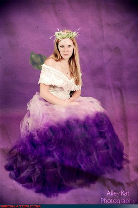 crazy bride picture,Crazy Brides,crazy wedding dress,fashion is my passion,funny wedding photos,professional wedding photography,purple wedding dress,surprise,ugly wedding dress,wedding dress unicorn mane,Wedding Themes,wtf