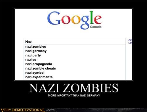 google history idiots internet nazis search Terrifying zombie