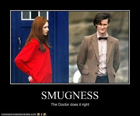 amy pond bbc celebrity-pictures-doctor-who-smugness celeb doctor who karen gillan Matt Smith ROFlash sci fi the doctor - 3916260096