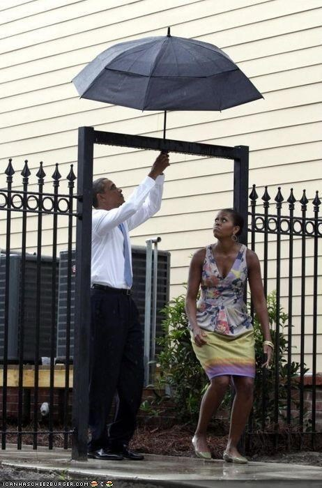 barack obama captionable funny Michelle Obama - 3916752384