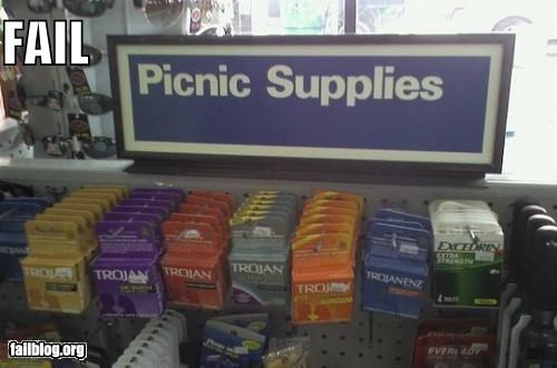 aisle,classic,condoms,failboat,picnic,sign,suggestion