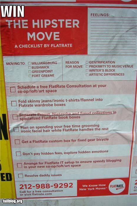 Ad failboat g rated hipster moving planning poster win - 3917354240
