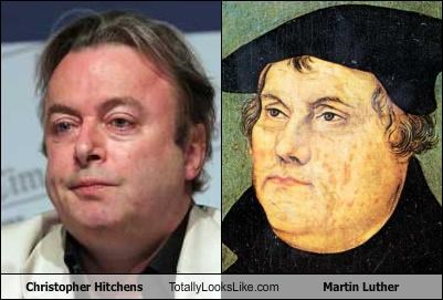 christopher hitchens,martin luther