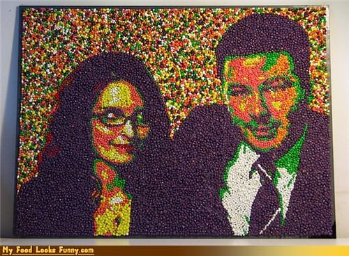 30 rock,alec baldwin,art,candy,nerds,portrait,tina fey