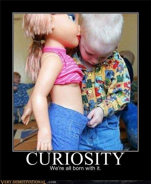 childhood,curiosity,dolls,hilarious,lol,voyeurism