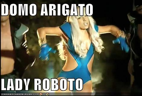 celebrity-pictures-lady-gaga-domo-arigato lady gaga mtv ROFlash videos vmas - 3920420352