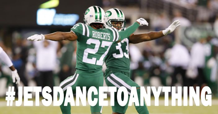 List of funny videos of the Jets dancing to various songs like Barry White, Billy Joel and Mariah Carey.