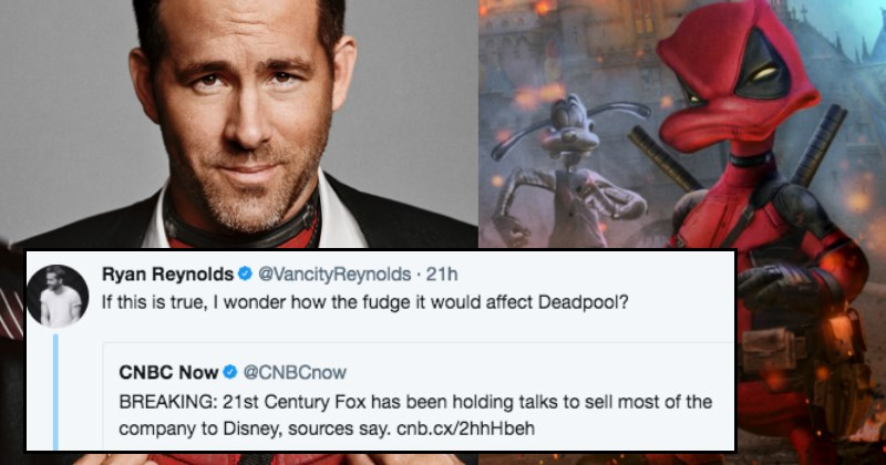 Ryan Reynolds is Worried What Will Happen to Deadpool if Disney Gets the X-Men Rights