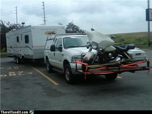 hauling motorcycle rv trailers - 3923141120
