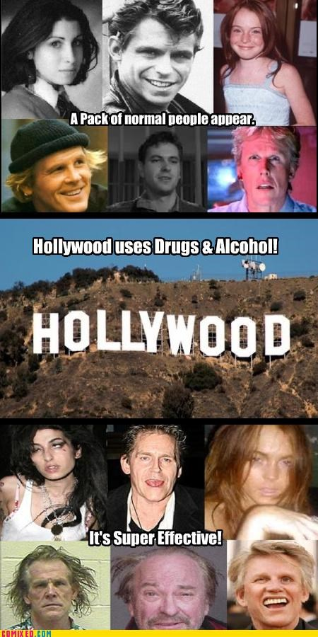 alcohol,amy winehouse,celebutard,celebutards,drugs,gary busey,lindsay lohan,Nick Nolte,rip torn