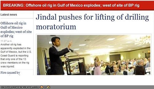 governor bobby jindal,gulf of mexico,news,pundit blotter