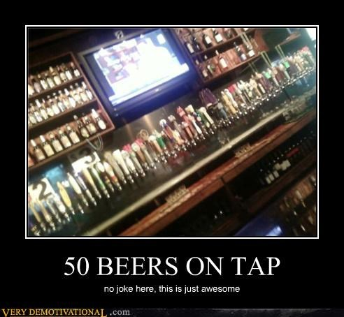 50 beers awesome bars beers drinking IRL jokes Pure Awesome reality - 3923808768