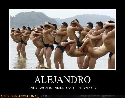 ALEJANDRO LADY GAGA IS TAKING OVER THE WROLD