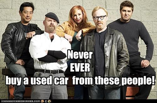 cars lolz mythbusters science - 3926488320