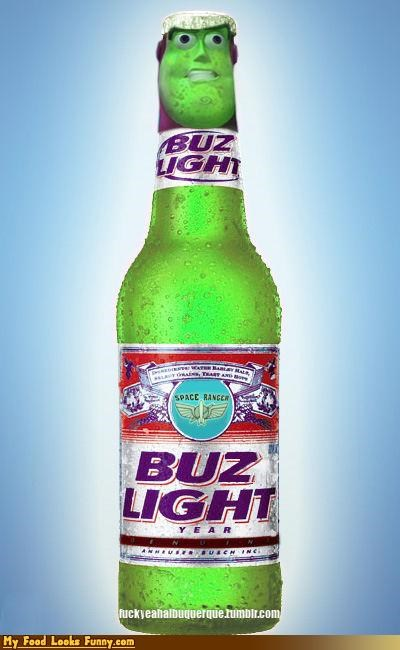 beer bud bud light buzz lightyear drink movies toy story