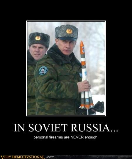 firearms never enough Soviet Russia