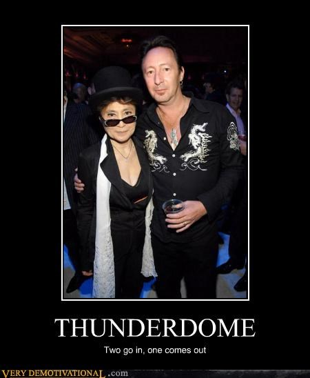 THUNDERDOME Two go in, one comes out