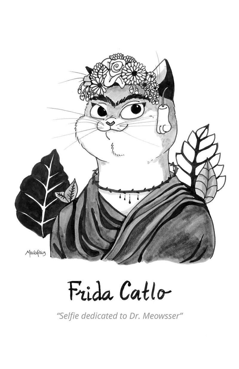 cats in classic art