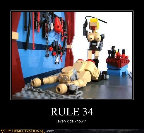 RULE 34 even kids know it