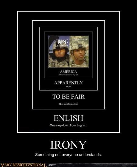 idiots understanding irony - 3930416896