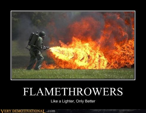 lighter awesome flamethrower - 3931514880