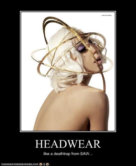 HEADWEAR like a deathtrap from SAW...
