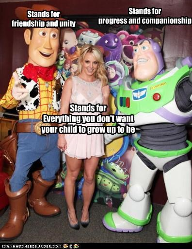 singers britney spears disney Role Model toy story - 3936065280