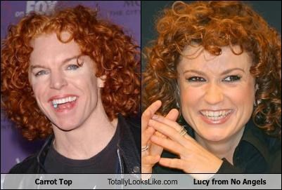 carrot top,Lucy Diakovska,no angels,redhead