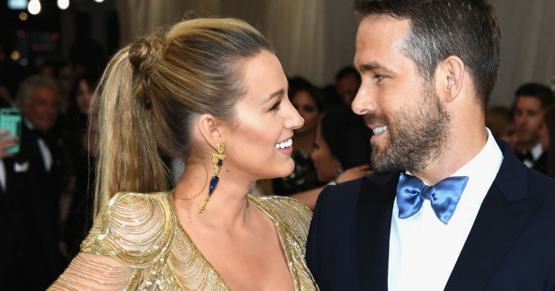 Ryan Reynolds trolls Blake Lively over a ridiculous, unrecognizable picture taken of her for her new role.
