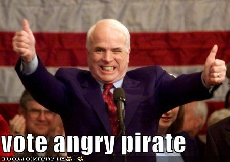 funny john mccain lolz Pirate republican - 3938349824