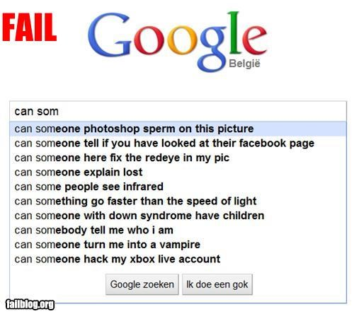 Autocomplete Me failboat google google search photoshop really
