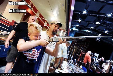Alabama america funny kids lolz weapon wtf - 3942242560