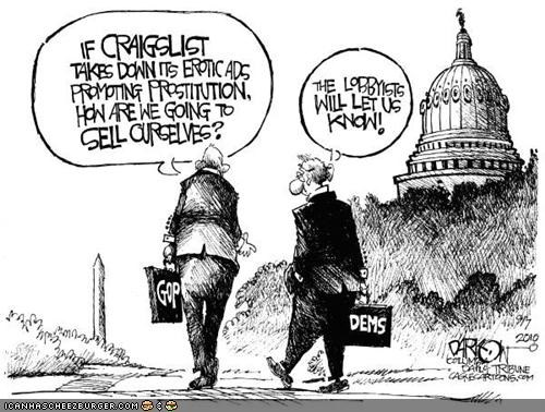 cartoons funny lobbyists news politics technology - 3942499584